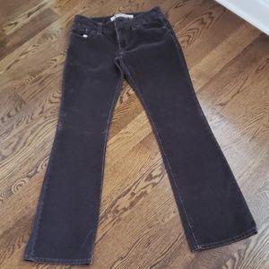 Gap Brown Corduroy Pants Size 6